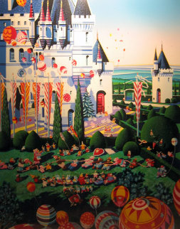 Castle Festival 1989 Limited Edition Print by Hiro Yamagata