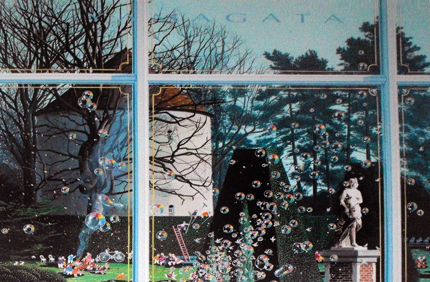 Hedge Trimmer 1992 Limited Edition Print by Hiro Yamagata