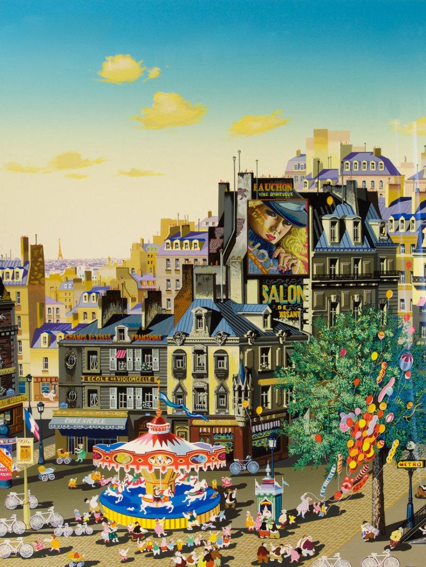 Carousel 1986 Limited Edition Print by Hiro Yamagata
