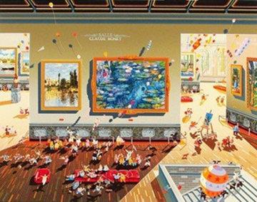 La Louvre 1988 Limited Edition Print by Hiro Yamagata