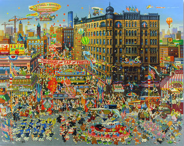 Great Tap Festival 1980 Limited Edition Print - Hiro Yamagata
