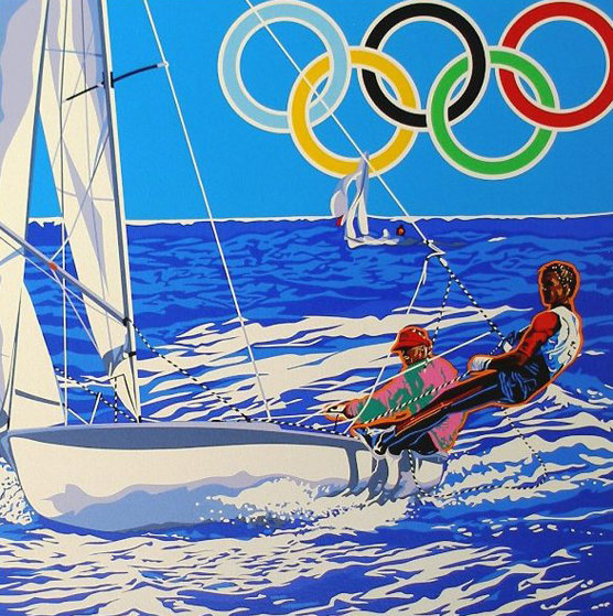 Yachting (From the Centennial Olympic Games) 1996 by Hiro Yamagata