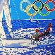 Yachting (From the Centennial Olympic Games) 1996 Limited Edition Print by Hiro Yamagata - 0