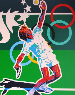 Tennis (From the Centennial Olympic Games) 1996 Limited Edition Print by Hiro Yamagata