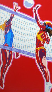 Beach Volleyball (From the Centennial Olympic Games) 1996 Limited Edition Print by Hiro Yamagata