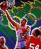 Basketball (From the Centennial Olympic Games) 1996 Limited Edition Print by Hiro Yamagata - 0