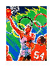 Basketball (From the Centennial Olympic Games) 1996 Limited Edition Print by Hiro Yamagata - 1