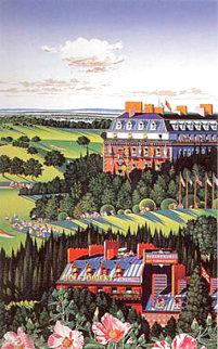 Country Club 1988 Limited Edition Print - Hiro Yamagata