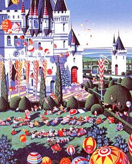 Castle Festival 1989 Limited Edition Print - Hiro Yamagata