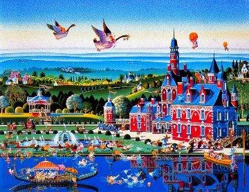 Chateau Rouge 1985 Limited Edition Print - Hiro Yamagata