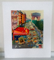 Paris From the  Four Cities Suite 1985 Limited Edition Print by Hiro Yamagata - 1