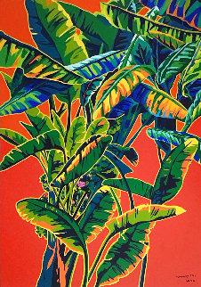 Earthly Paradise 2000 96x60 Huge Original Painting - Hiro Yamagata