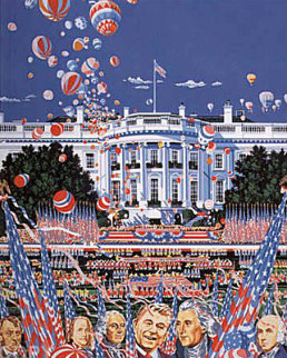 We the People 1987 Limited Edition Print - Hiro Yamagata