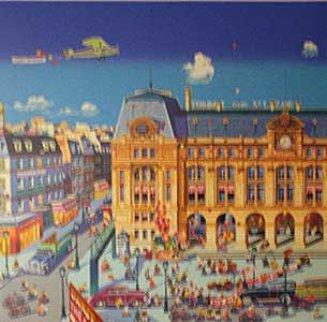 Gare St. Lazare, Paris 1986 Limited Edition Print - Hiro Yamagata