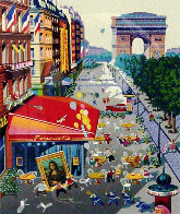 Four Cities Suite of 4 1985 Limited Edition Print by Hiro Yamagata - 1