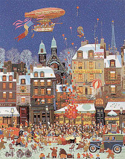Ouverture D'un Cafe 1979 Limited Edition Print by Hiro Yamagata