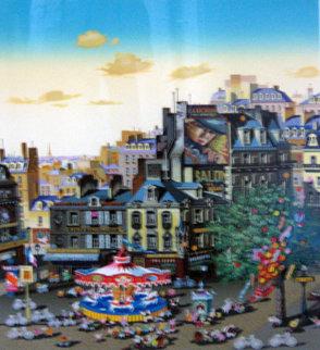 Carousel (Merry Go Round) 1986 Limited Edition Print - Hiro Yamagata