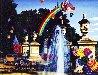 Courtyard Fountain 1990 Limited Edition Print by Hiro Yamagata - 0