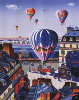 Balloon Wedding 1988 Limited Edition Print by Hiro Yamagata