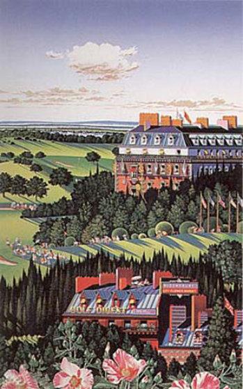 Country Club 1987 Limited Edition Print by Hiro Yamagata