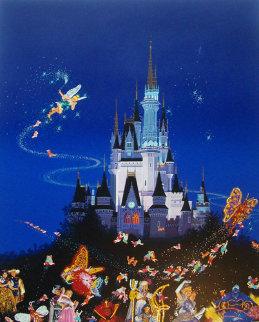 Tinkerbell, Tokyo Disneyland's 15th Anniversary 1998 AP Limited Edition Print - Hiro Yamagata