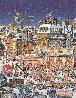 Key Largo City Lights 1981 Florida Limited Edition Print by Hiro Yamagata - 0