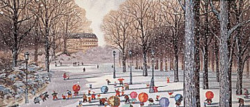 Father and Sons 1987 Limited Edition Print by Hiro Yamagata