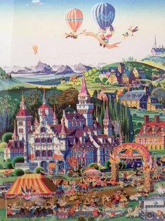 Finish Line 1986 Limited Edition Print - Hiro Yamagata