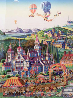 Finish Line 1986 Limited Edition Print by Hiro Yamagata