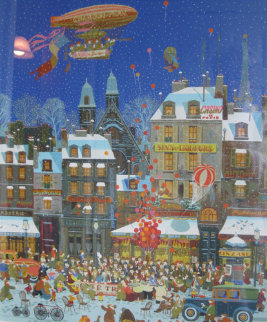 Overture D' Un Cafe 1979 Limited Edition Print by Hiro Yamagata