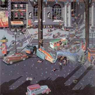 Robbers II 1984 Limited Edition Print - Hiro Yamagata