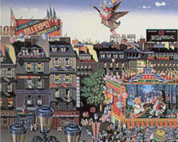 Once Upon a Time 1986 Limited Edition Print - Hiro Yamagata