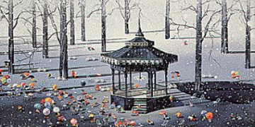 Winter Day 1988 Limited Edition Print by Hiro Yamagata