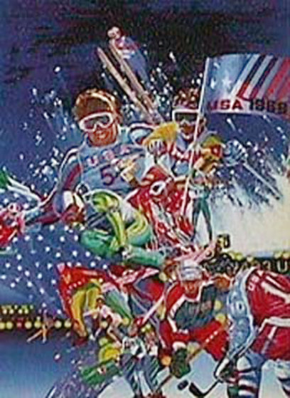 Winter Olympic Games 1988 Limited Edition Print by Hiro Yamagata