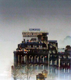 Foggy Day AP 1988 Limited Edition Print - Hiro Yamagata