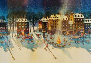 Snowfire 1986 Limited Edition Print - Hiro Yamagata
