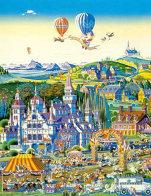 Finish Line 1986 Limited Edition Print by Hiro Yamagata - 0