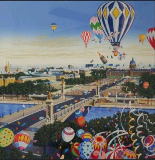 Balloon Race 1990 Limited Edition Print by Hiro Yamagata