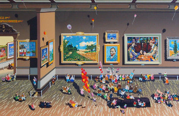 Impressionists PP 1984 Limited Edition Print - Hiro Yamagata