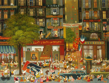 Exhibition 1980 Limited Edition Print by Hiro Yamagata
