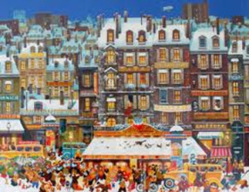 Chanson De Neige 1980 Limited Edition Print by Hiro Yamagata