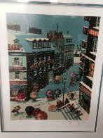Four Seasons Suite: Winter, Spring, Summer, Fall 1985 Limited Edition Print by Hiro Yamagata - 4
