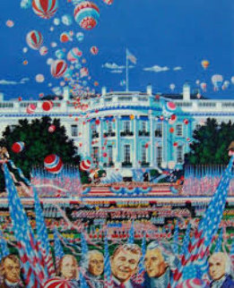 Constitution 200 Years 1990 Limited Edition Print by Hiro Yamagata