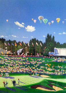 Ryder Cup Golf Tournament 1987 Limited Edition Print by Hiro Yamagata