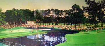 Masters Golf Tournament 1986 Hand Signed by Jack Limited Edition Print - Hiro Yamagata