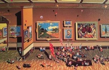 Impressionists 1984 Limited Edition Print - Hiro Yamagata