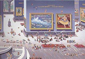 Museum 1984 Limited Edition Print - Hiro Yamagata