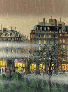Raindrops 1987 Limited Edition Print by Hiro Yamagata