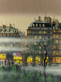 Raindrops 1987 Limited Edition Print - Hiro Yamagata
