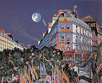 Full Moon 1989 Limited Edition Print by Hiro Yamagata